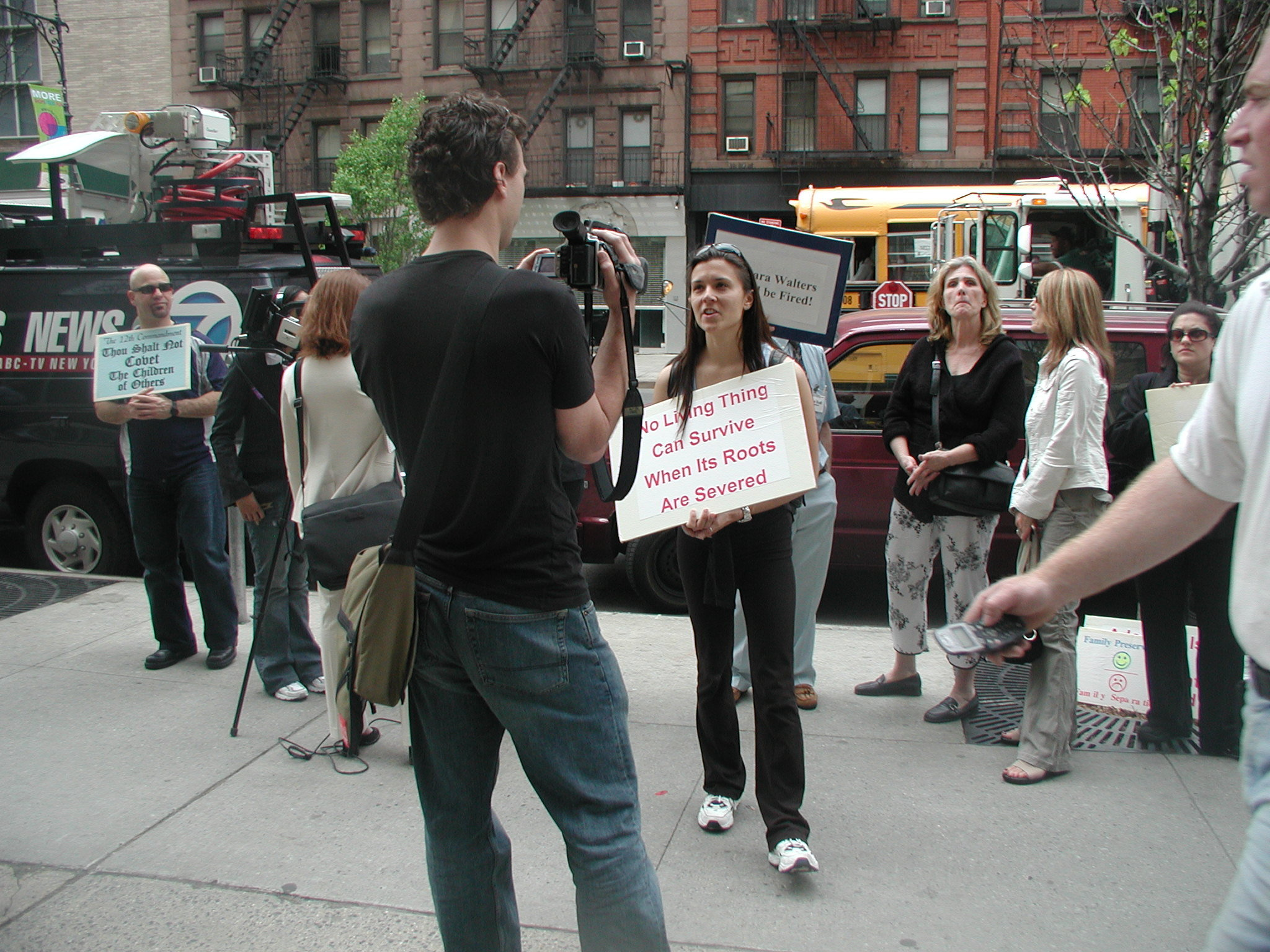 """""""Be My Baby"""" Protest"""